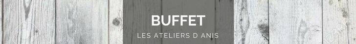 buffet relooké, les ateliers d'anis réunion